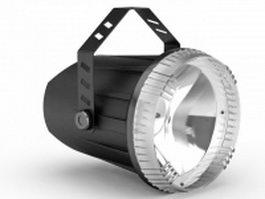 Ceiling spotlight & speaker combine 3d model