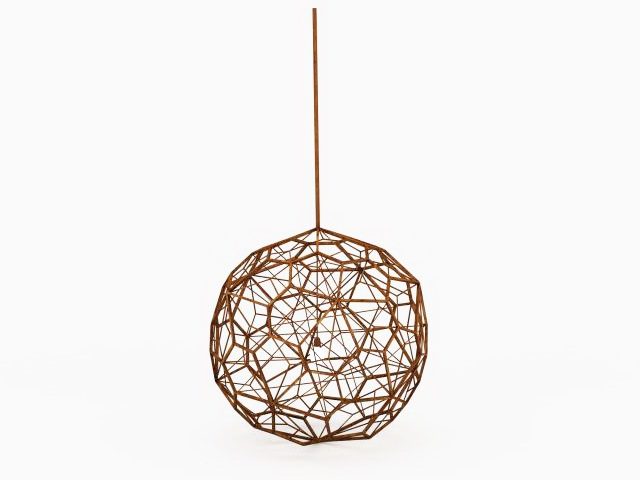Wooden sphere pendant light 3d model 3ds max files free download 3d model of wood wire sphere lighting available 3d file format x 3d studio max 2010 v ray render texture format jpg free download this 3d objects aloadofball Choice Image