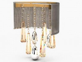 Chandelier wall sconce 3d model
