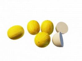 Canary melon 3d model