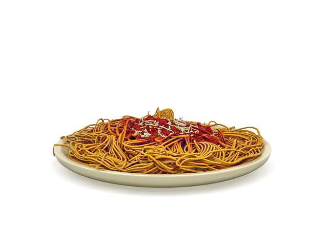 Italian Spaghetti 3d Model 3ds Max Files Free Download