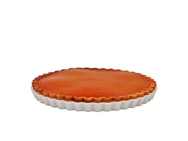 Pumpkin pie sweet dessert 3d model 3ds max files free