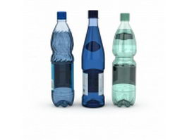 Purified water bottle 3d model