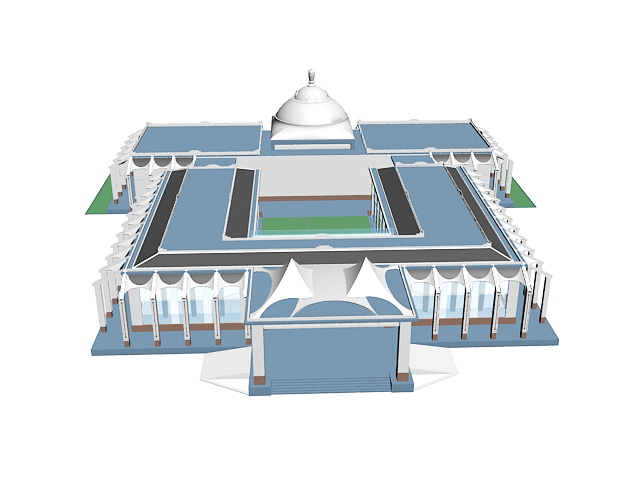 Islamic Architecture 3D Models Free Download - smartsokol