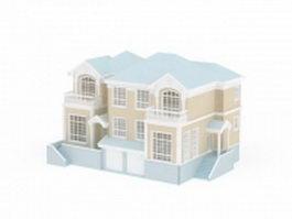 Dwelling house 3d model
