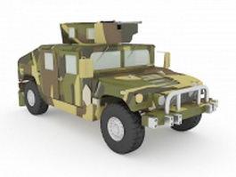 U.S.army HMMWV 3d model