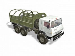 Army truck vehicle 3d model
