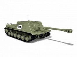 WW2 Soviet Union tank 3d model