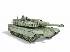South Korean main battle tank 3d model