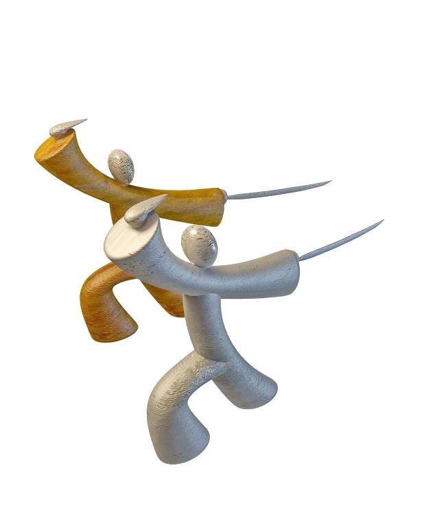 chinese kung fu figurines 3d model 3ds max files free download modeling 32804 on cadnav. Black Bedroom Furniture Sets. Home Design Ideas