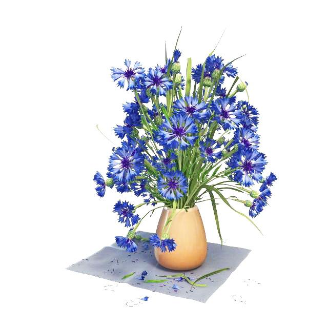 Flower Vase 3d Model Free Download Cadnav