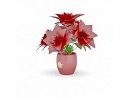 Christmas plants 3d model