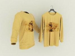 Men's T-Shirt 3d model