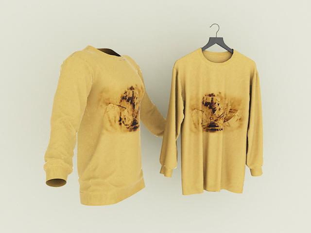 Free Model Shirt T 3d Download ED9W2IHY