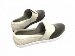 Mens slip on shoes 3d model