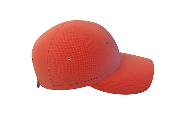 Red baseball cap 3d model 3ds max files free download - modeling ... 4850243efa24