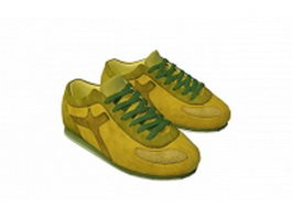 Trainers sports shoes 3d model