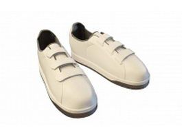 Mens casual shoes 3d model