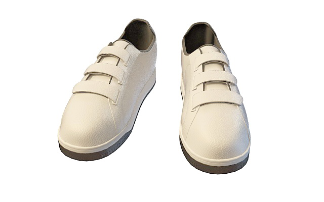 Mens Casual Shoes 3d Model 3ds Max Files Free Download