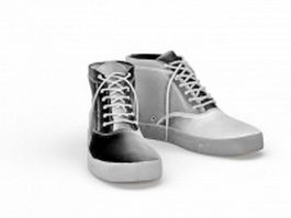 Canvas sneakers 3d model