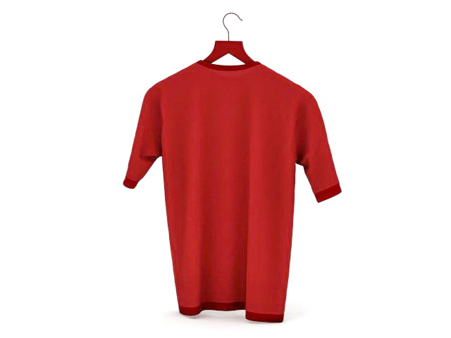 T shirt 3d model free download - cadnav.com 734a28a26f86