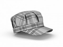 Snapback hat 3d model