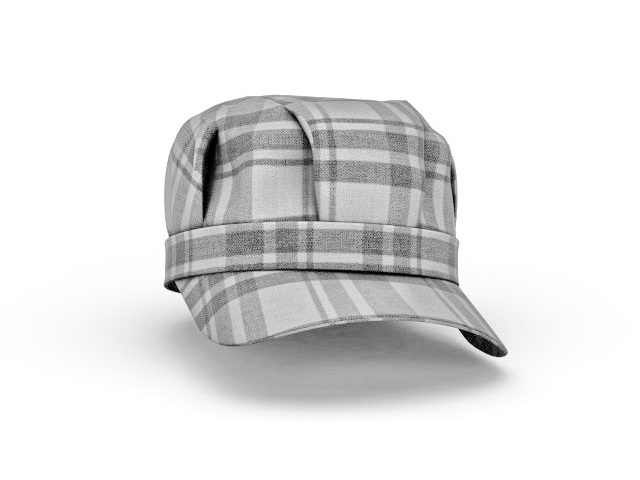 Snapback hat 3d model 3ds max files free download - modeling 33132 ... bd1561f30a36