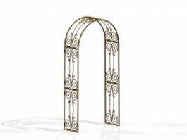 Ornamental arch 3d model