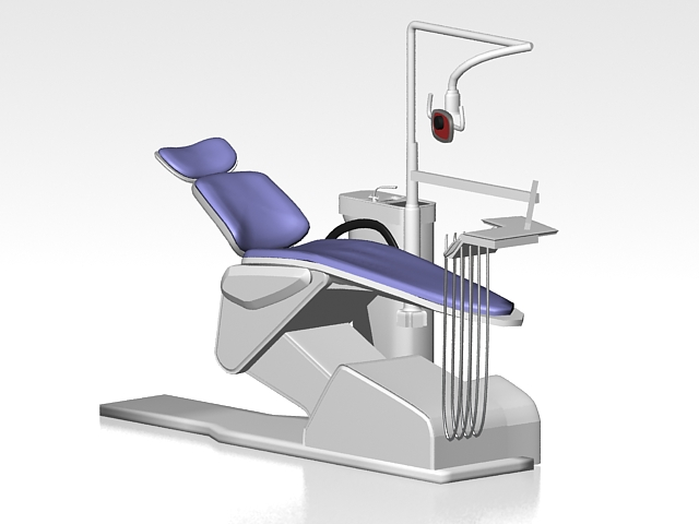 Dental Equipment 3d Model 3ds Max Files Free Download