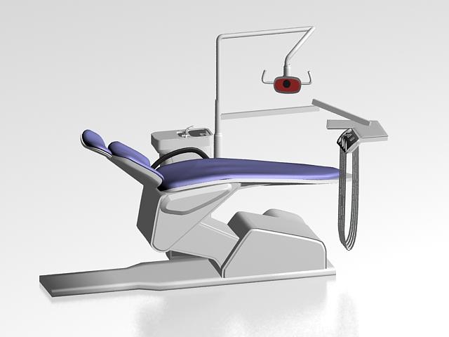 Dental equipment 3d rendering