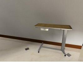 Mobile lab cart 3d model