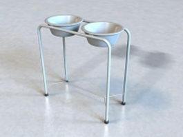 Medical basin stand 3d model