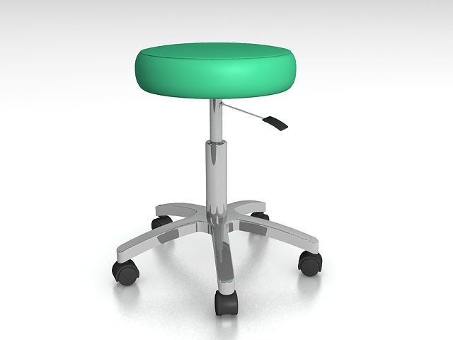 Medical Exam Stool 3d Model 3ds Max Files Free Download