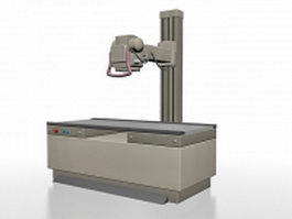 Radiography machine 3d model