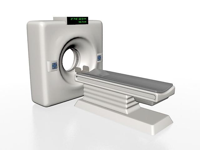 Tomography MRI Machine 3d rendering