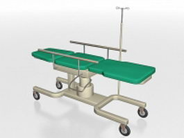 Ultrasound exam table 3d model
