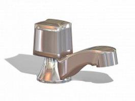 Basin tap 3d model