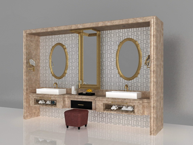 Luxury bathroom vanity furniture 3d model 3ds Max files free ... on designer bathroom sinks, designer bathroom basins, designer living room sets, designer kitchen sets, designer mirror sets, designer desk sets, designer bathroom scales, designer bathroom shelves, designer bedroom sets, designer bathroom taps, designer curtains sets, designer bathroom accessories, designer bathroom faucets, designer bedding sets, designer bathroom curtains, bathroom cabinet sets, designer bathroom showers,