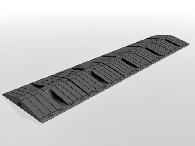 3dSkyHost: Rubber speed bump 3D Model