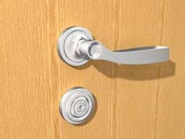 Door handle and lock sets 3d model