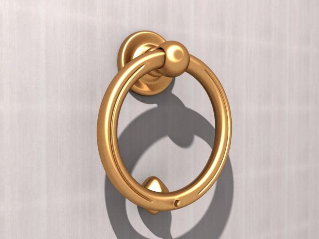 Ring Door Knocker 3D Model