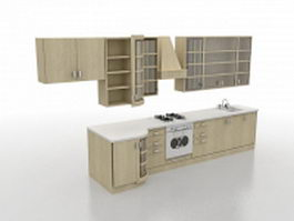 Small kitchen designs 3d model