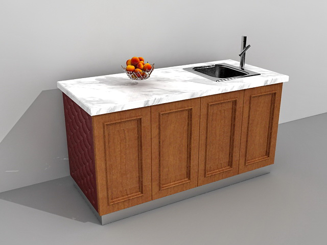 Kitchen Island With Sink Model Max Files Free Download