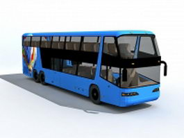 Double decker bus 3d model