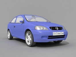 Opel Astra car 3d model