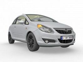 Opel Vauxhall Corsa 3d model