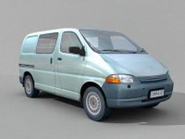 Minivan car 3d model
