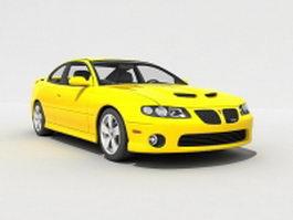 2005 Pontiac GTO 3d model