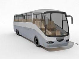 Express bus 3d model