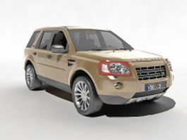 Land Rover Freelander 2 3d model